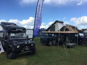 Nelson on the Coastline Campers Stand